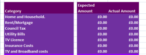 Mr Lender budget planner screenshot